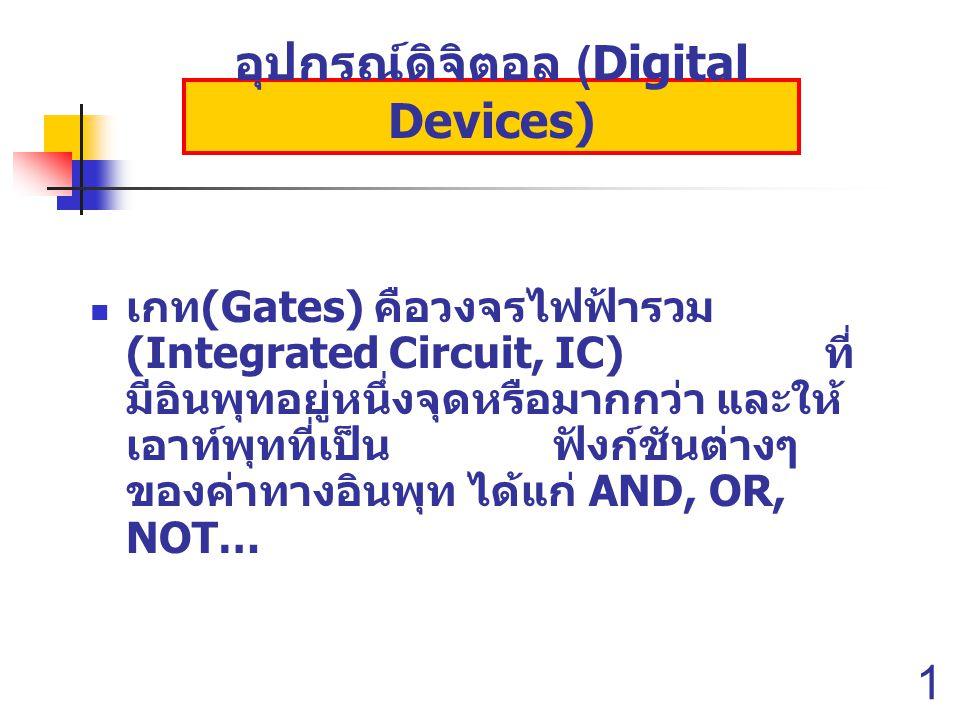 อุปกรณ์ดิจิตอล (Digital Devices)