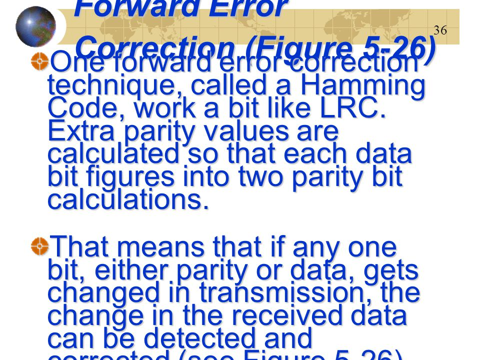 Forward Error Correction (Figure 5-26)