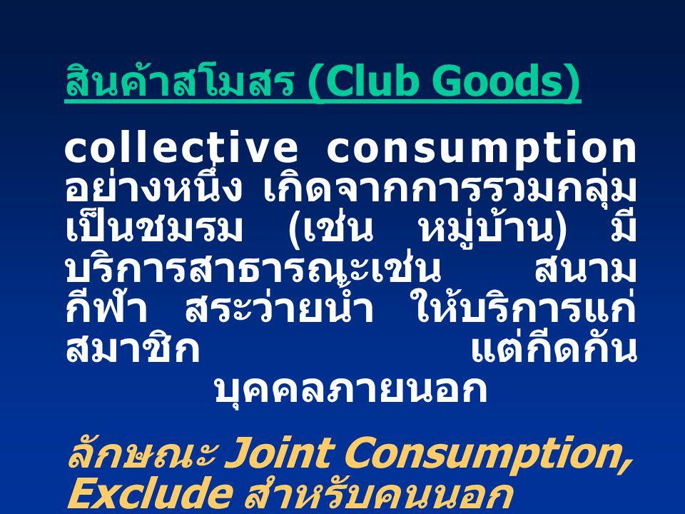 สินค้าสโมสร (Club Goods)