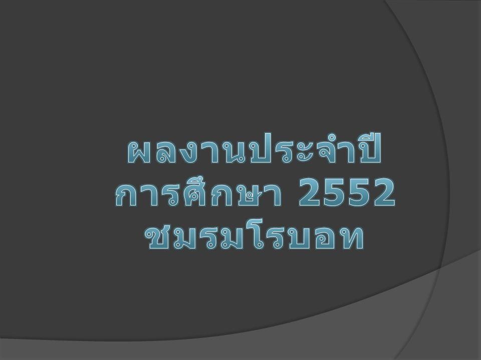 ผลงานประจำปีการศึกษา 2552