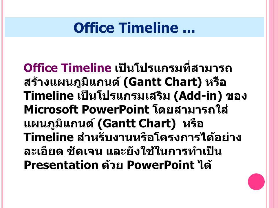 Office Timeline ...