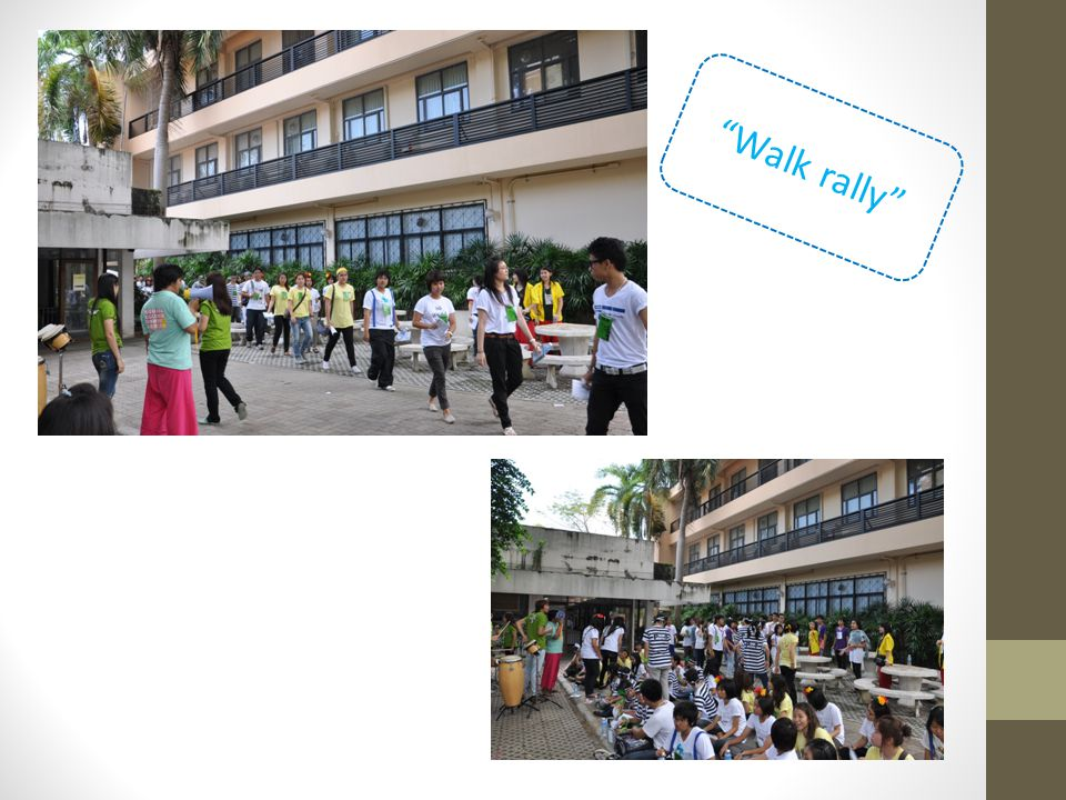 Walk rally