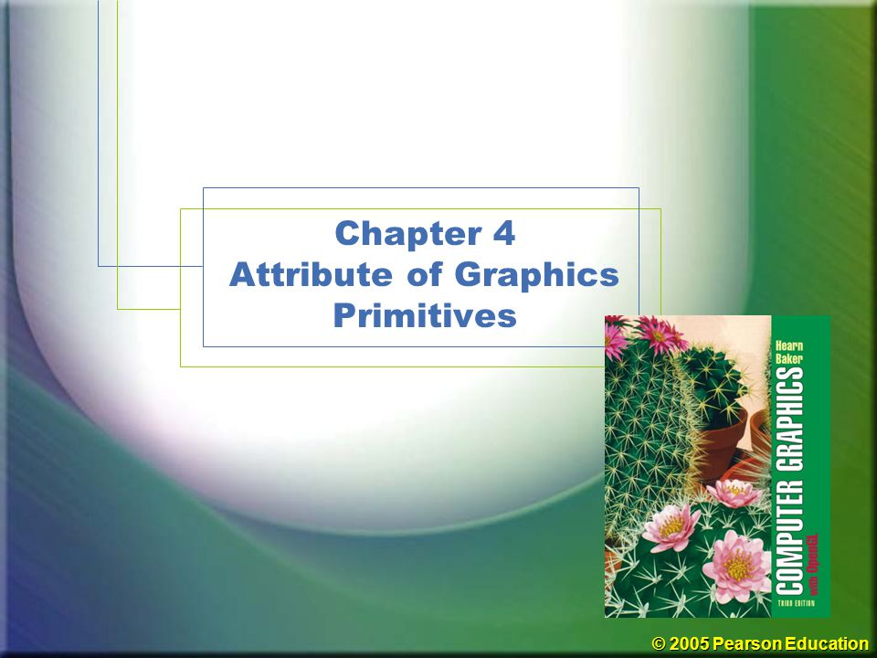 Chapter 4 Attribute of Graphics Primitives