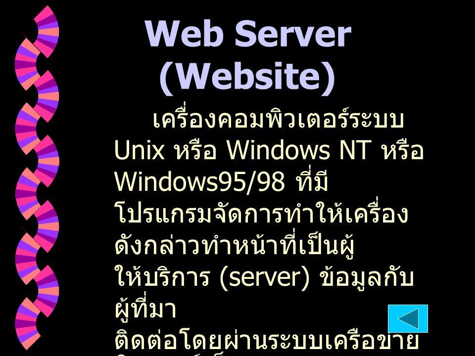 Web Server (Website)