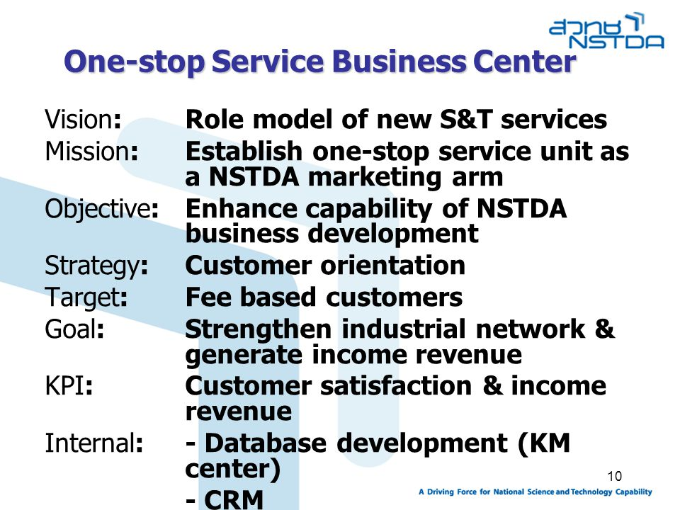 One-stop Service Business Center