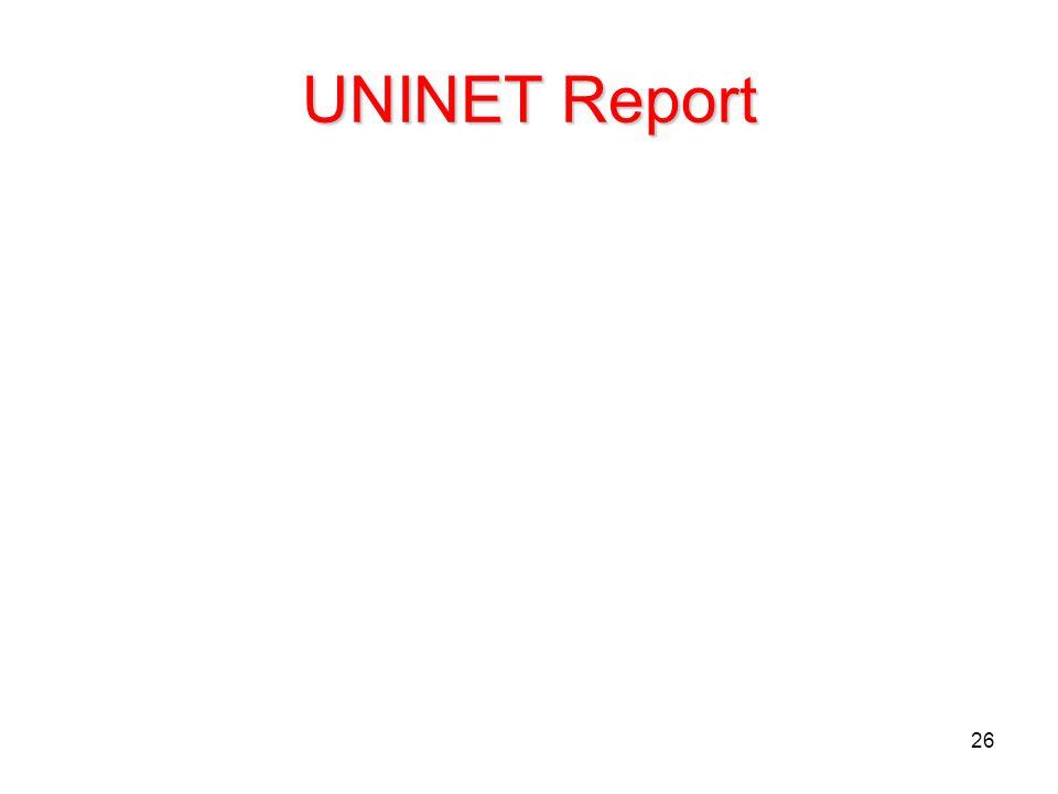 UNINET Report