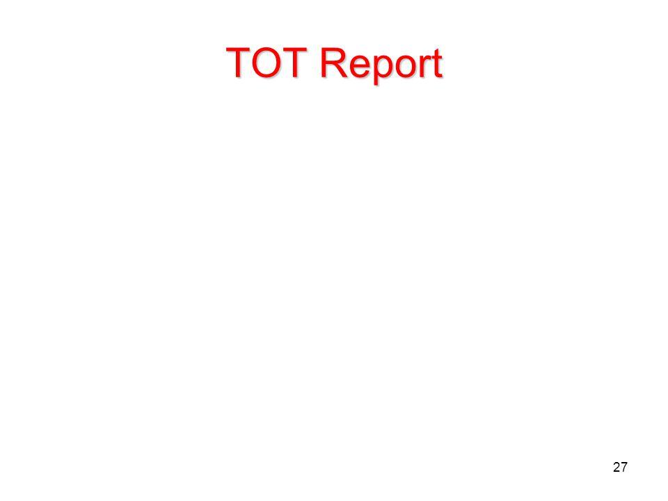 TOT Report