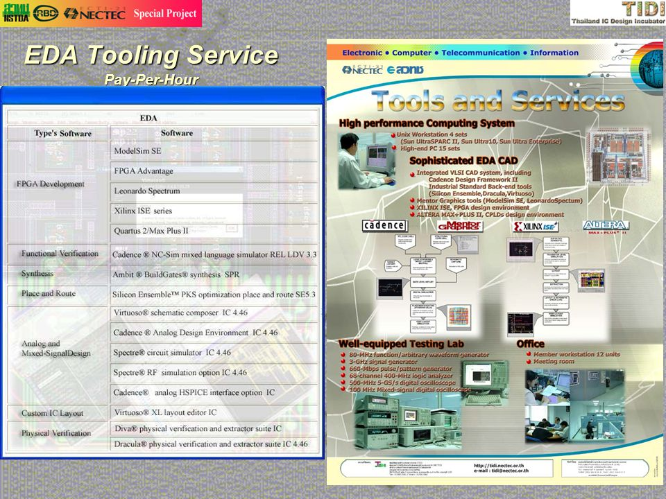 EDA Tooling Service Pay-Per-Hour