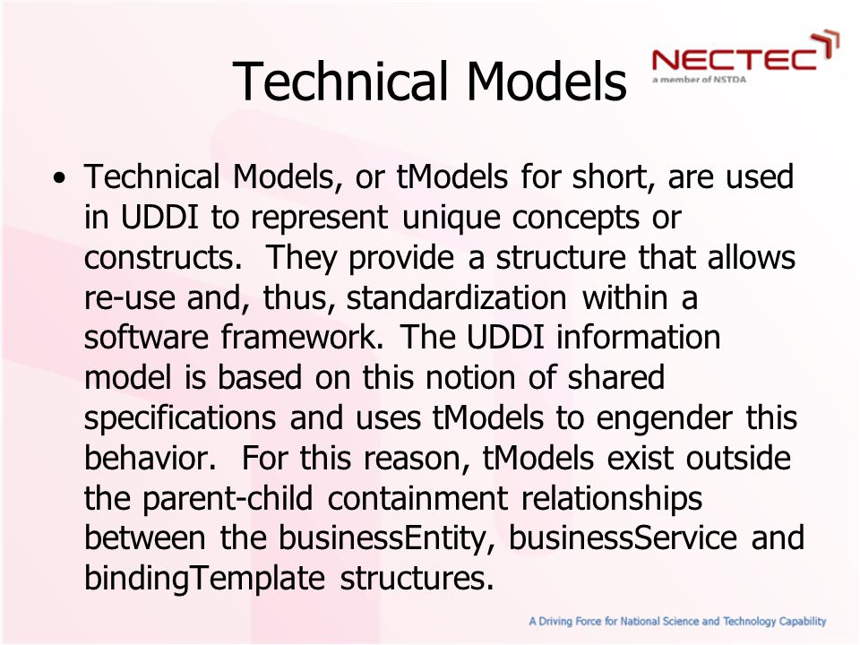 Technical Models