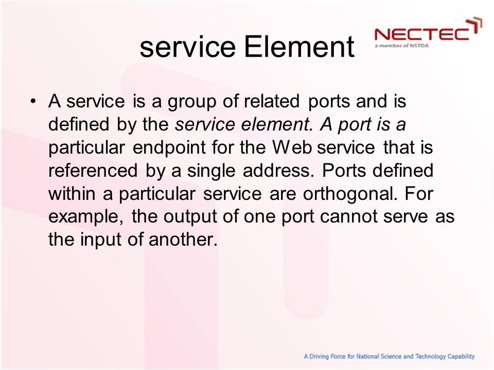 service Element