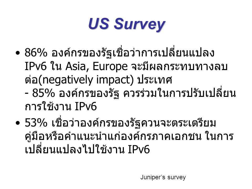 US Survey