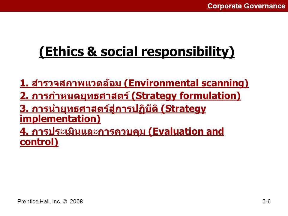 (Ethics & social responsibility)