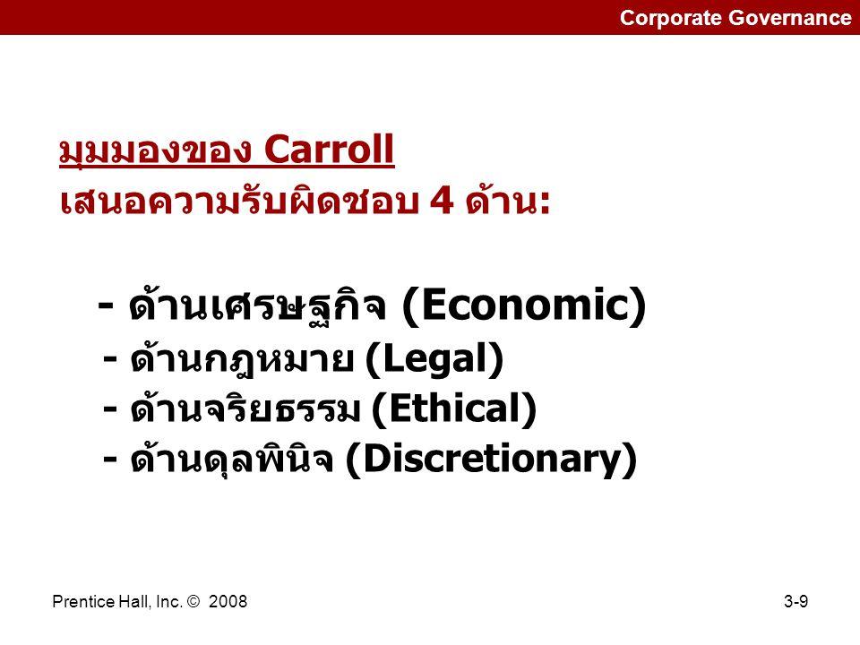 - ด้านเศรษฐกิจ (Economic)