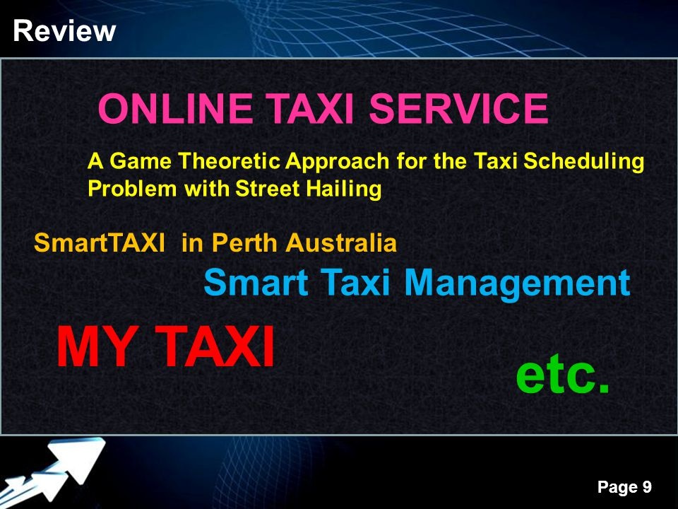 MY TAXI etc. ONLINE TAXI SERVICE Smart Taxi Management Review