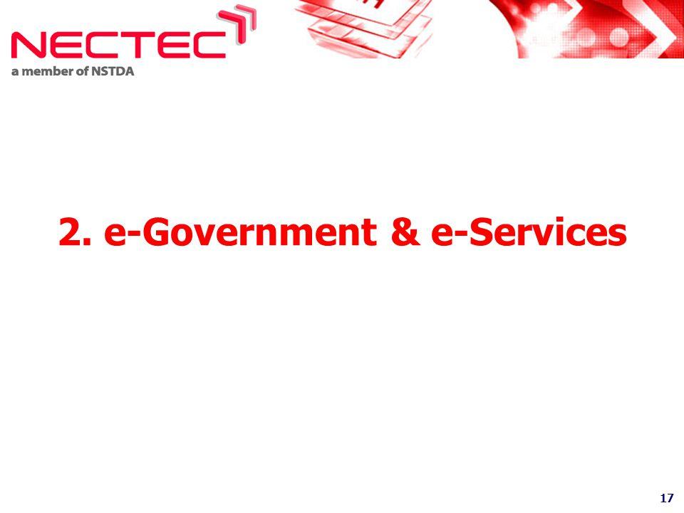 2. e-Government & e-Services