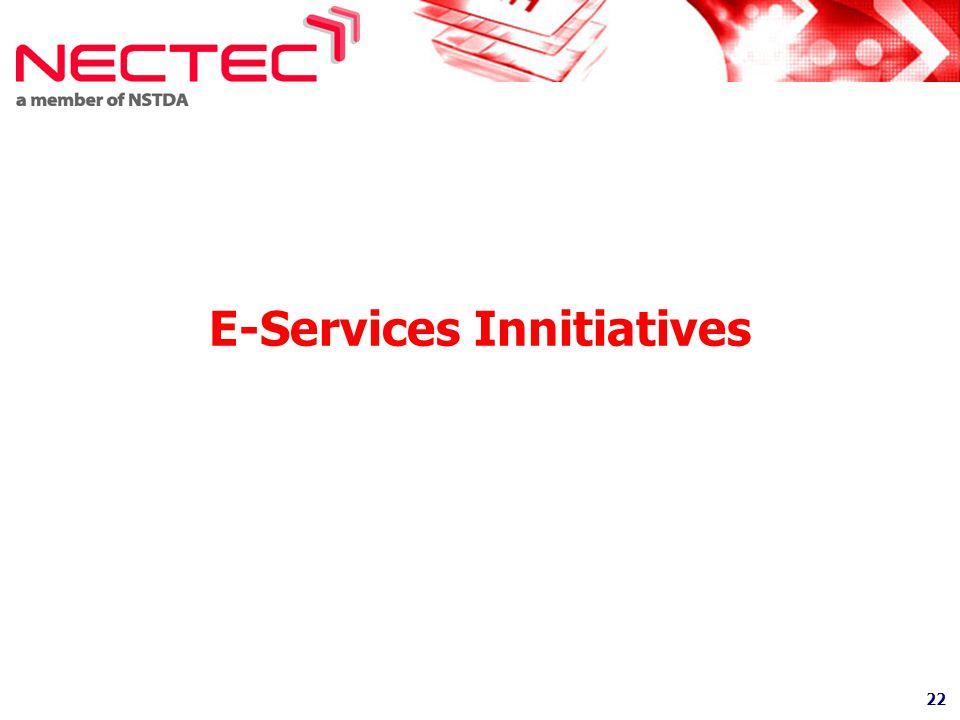 E-Services Innitiatives