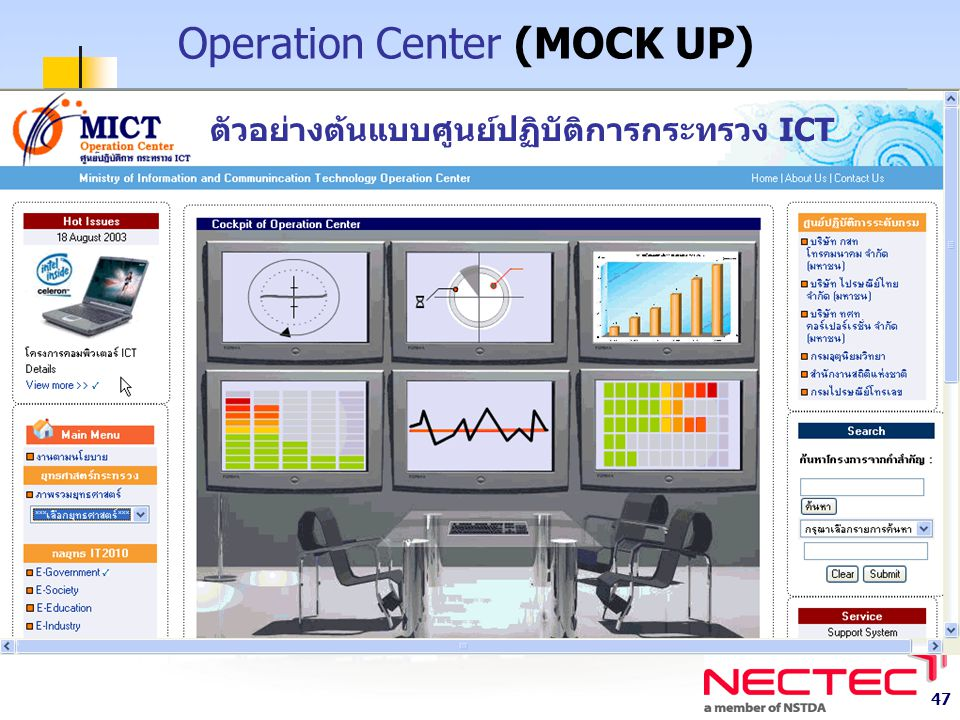 Operation Center (MOCK UP)