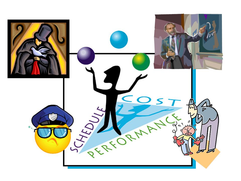 a good project manager needs to be a juggler (CLICK)