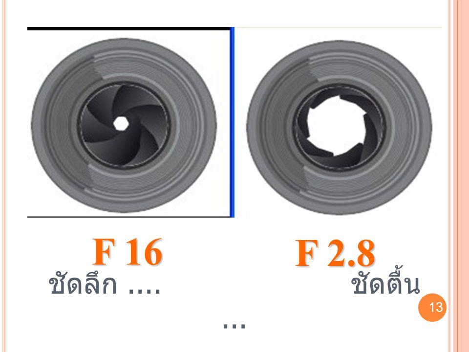F 16 F 2.8 ชัดลึก .... ชัดตื้น ... 13