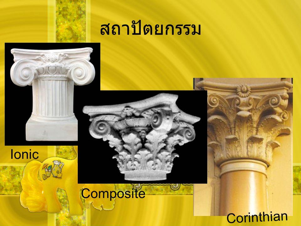 สถาปัตยกรรม Ionic Composite Corinthian