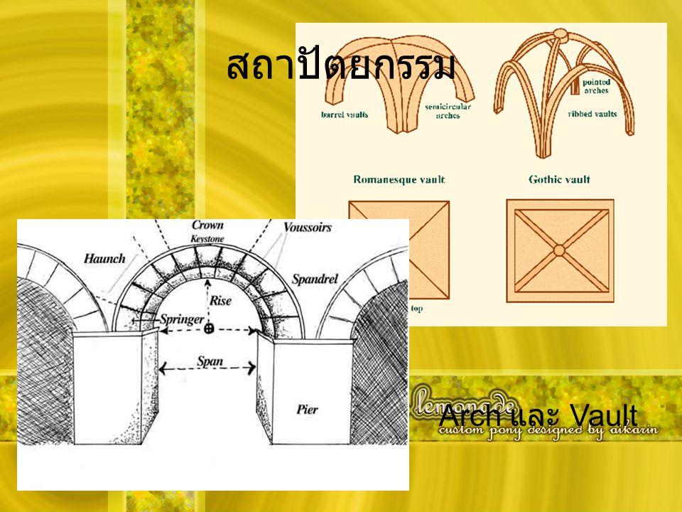 สถาปัตยกรรม Arch และ Vault
