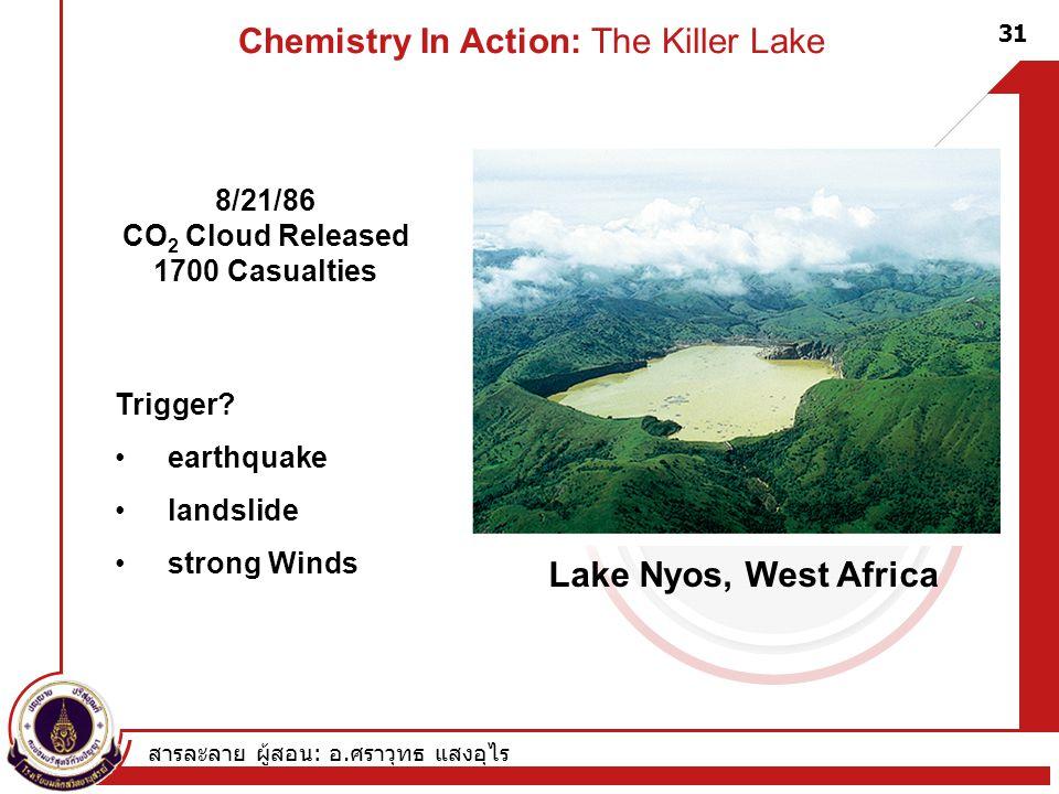 Chemistry In Action: The Killer Lake