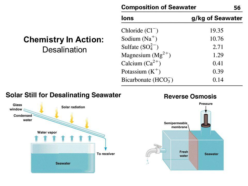 Chemistry In Action: Desalination สารละลาย ผู้สอน: อ.ศราวุทธ แสงอุไร