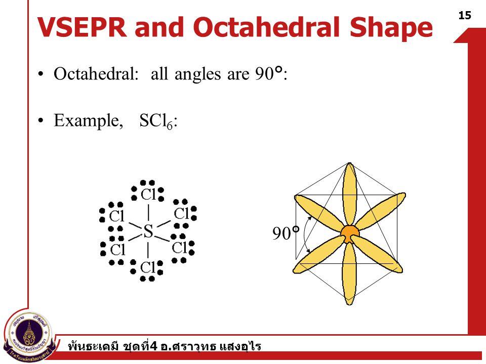 VSEPR and Octahedral Shape