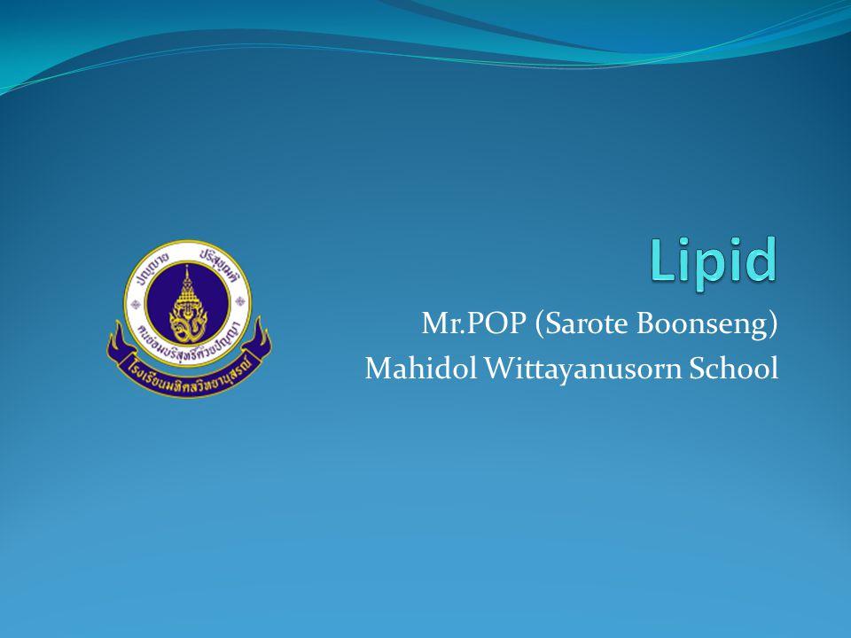 Mr.POP (Sarote Boonseng) Mahidol Wittayanusorn School