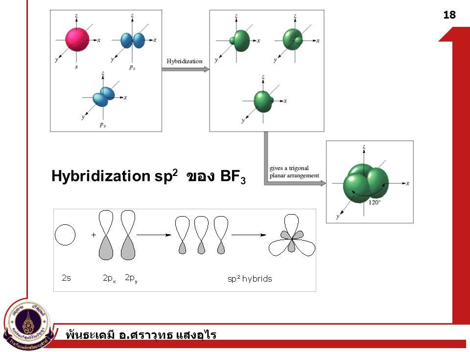 Hybridization sp2 ของ BF3