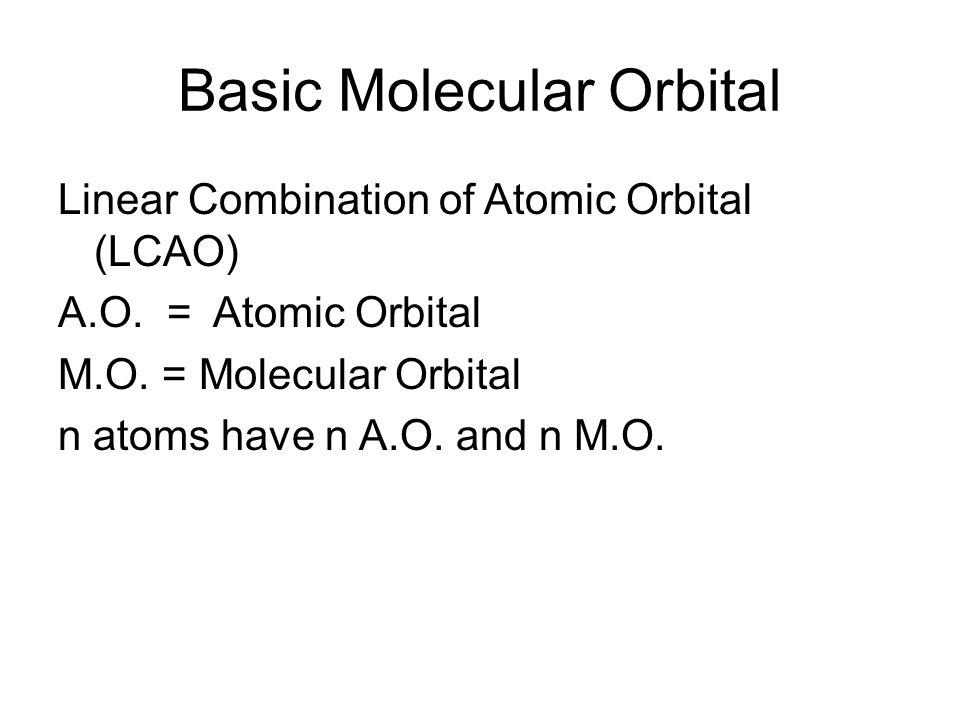 Basic Molecular Orbital