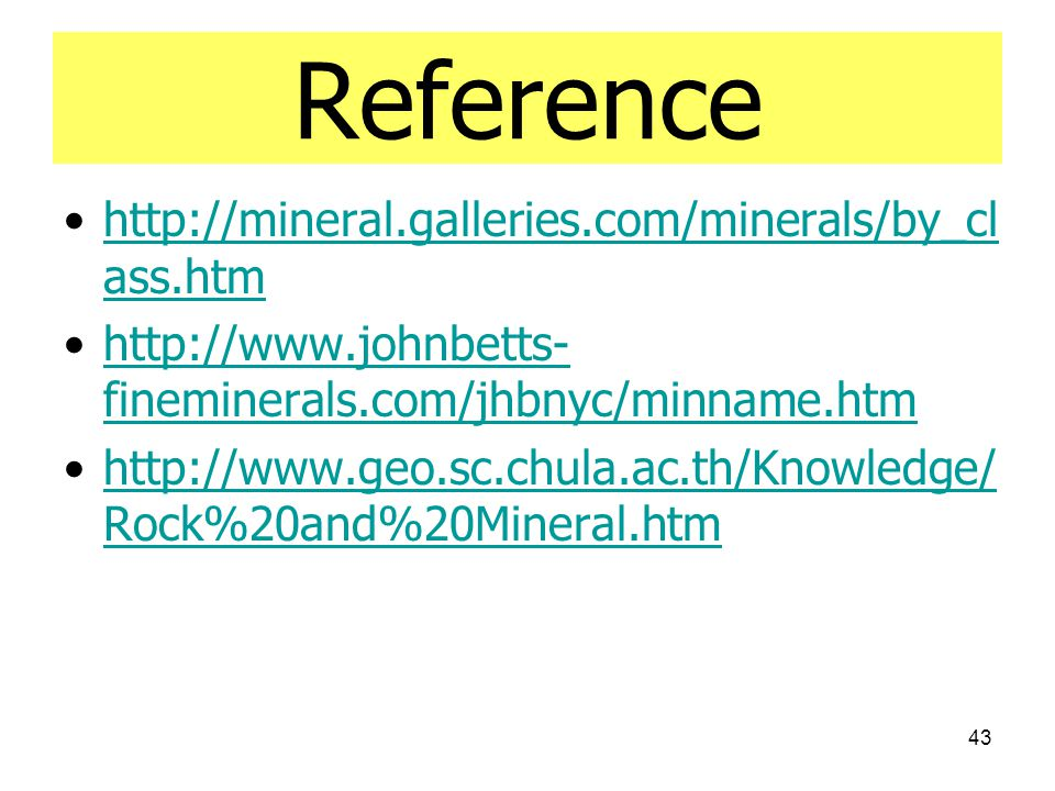 Reference http://mineral.galleries.com/minerals/by_class.htm