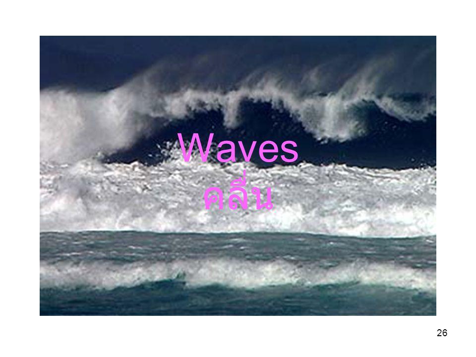 Waves คลื่น