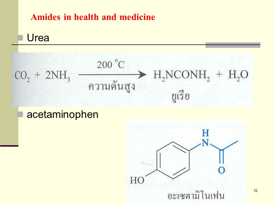 Amides in health and medicine