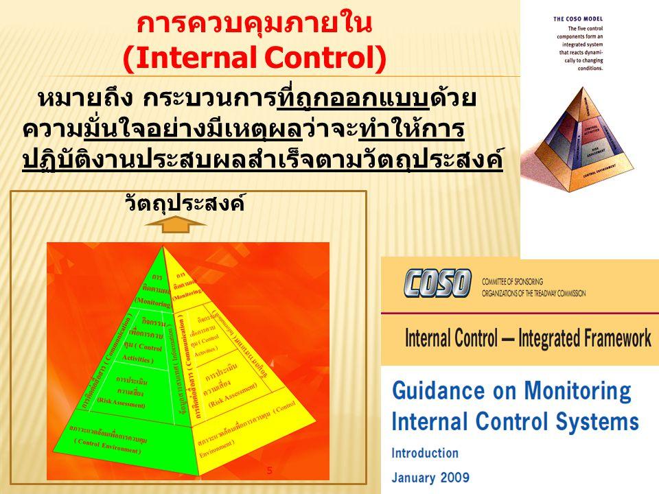 การควบคุมภายใน (Internal Control)