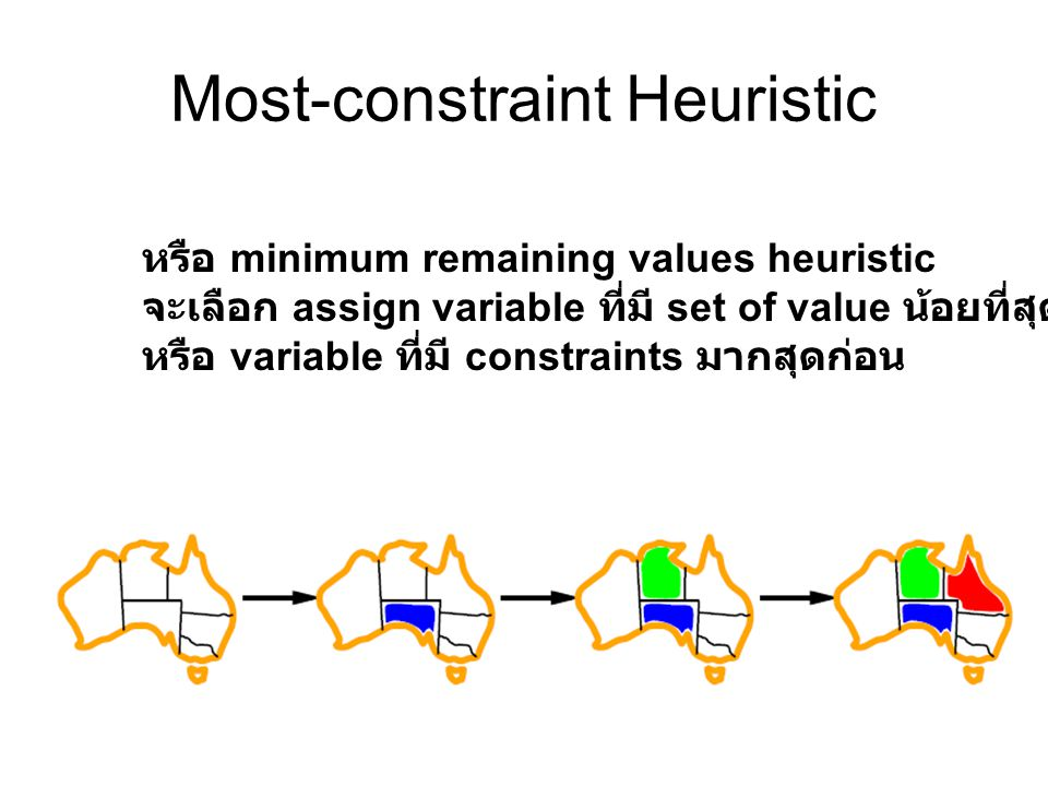 Most-constraint Heuristic