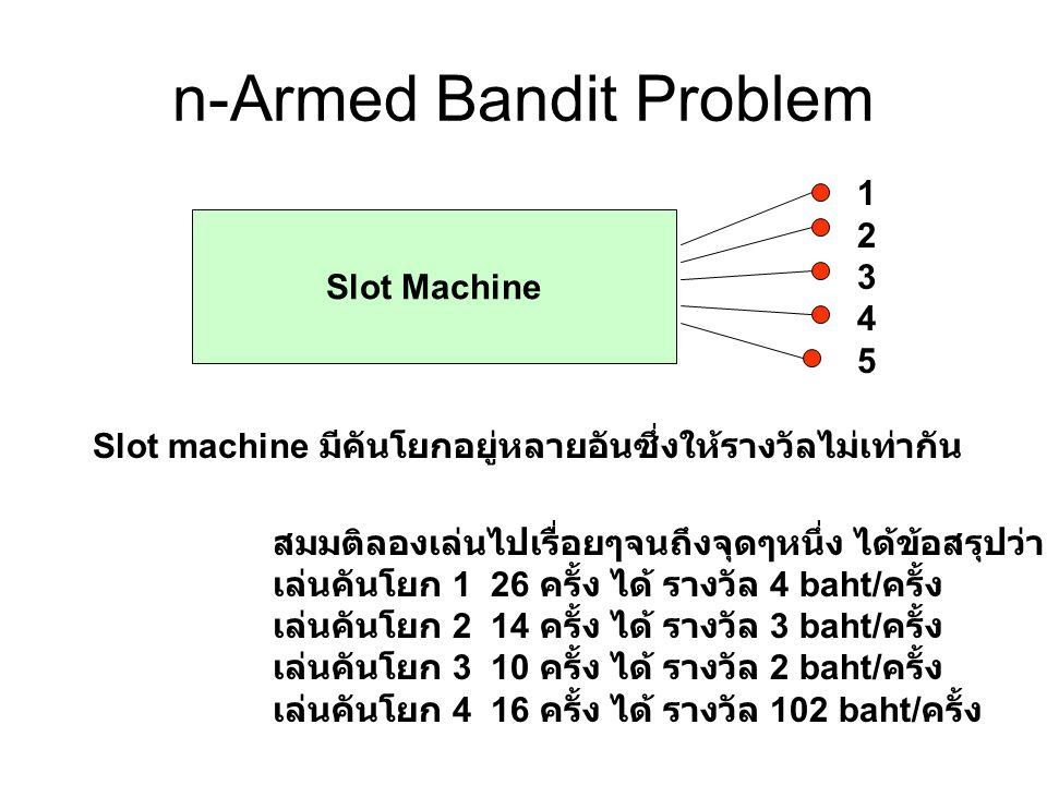 n-Armed Bandit Problem
