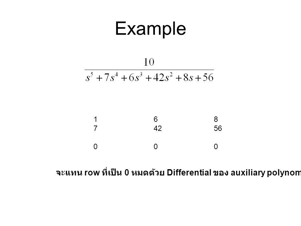 Example 1 6 8. 7 42 56. 0 0 0.