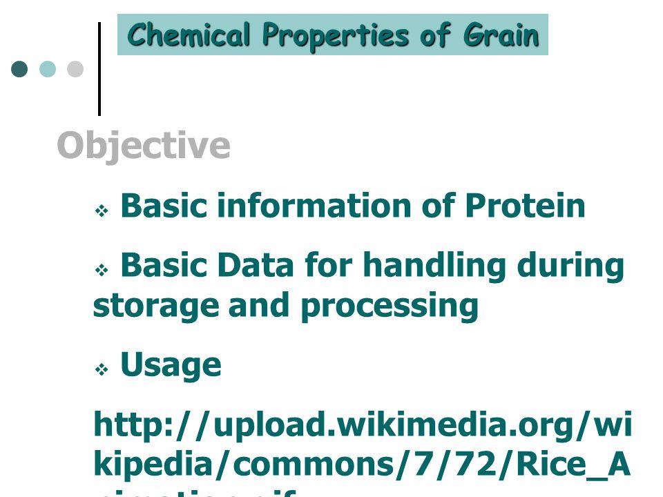 Chemical Properties of Grain
