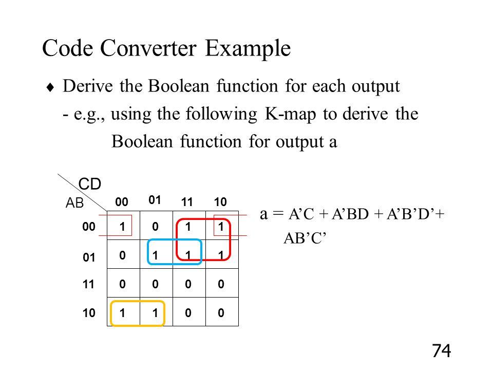 Code Converter Example