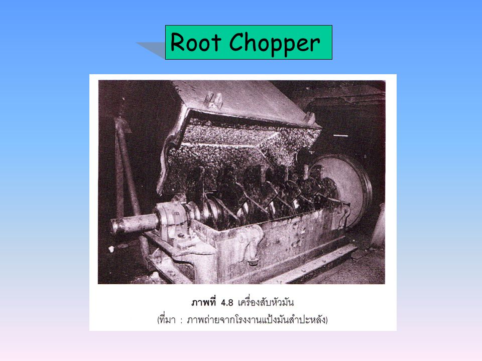 Root Chopper