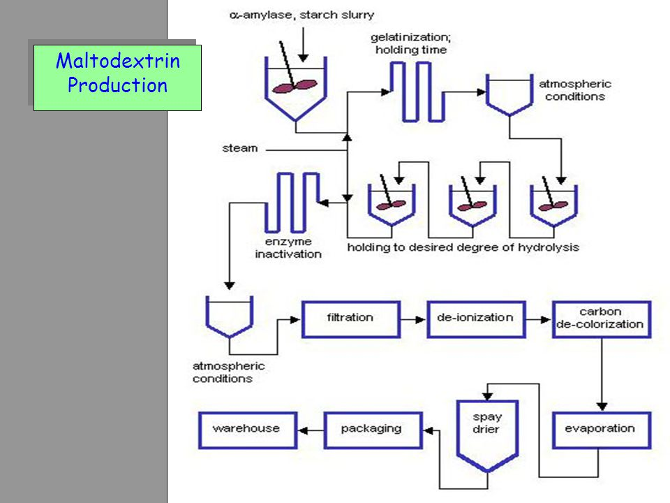 Maltodextrin Production