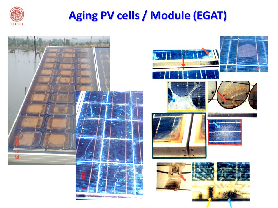 Aging PV cells / Module (EGAT)