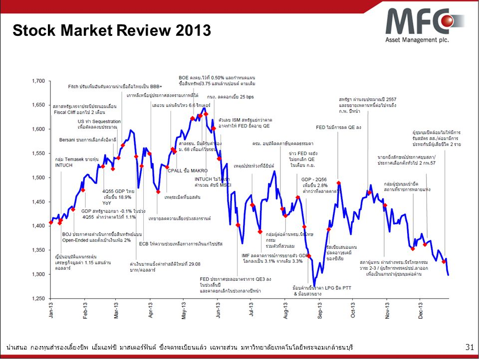 Stock Market Review 2013