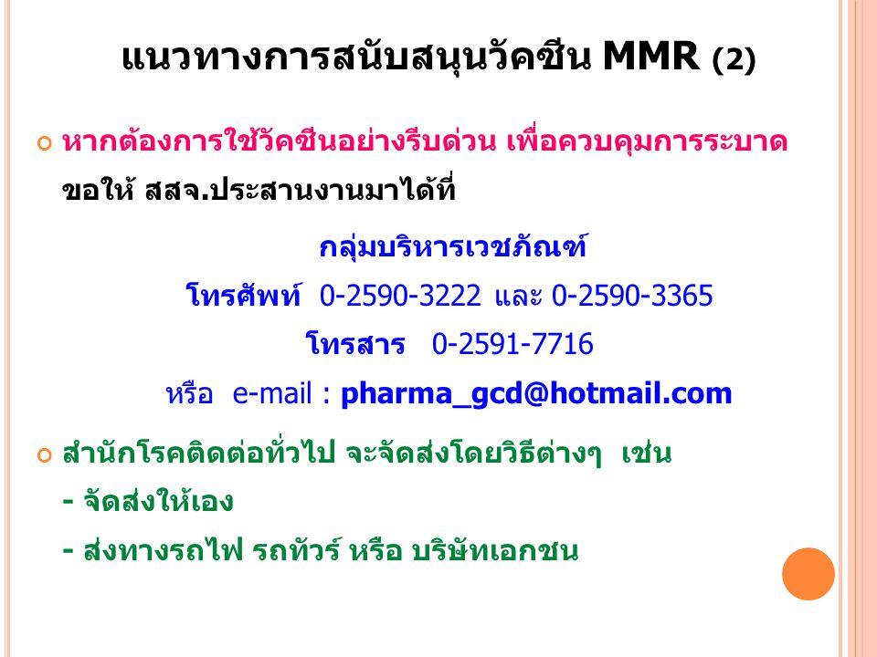 แนวทางการสนับสนุนวัคซีน MMR (2)