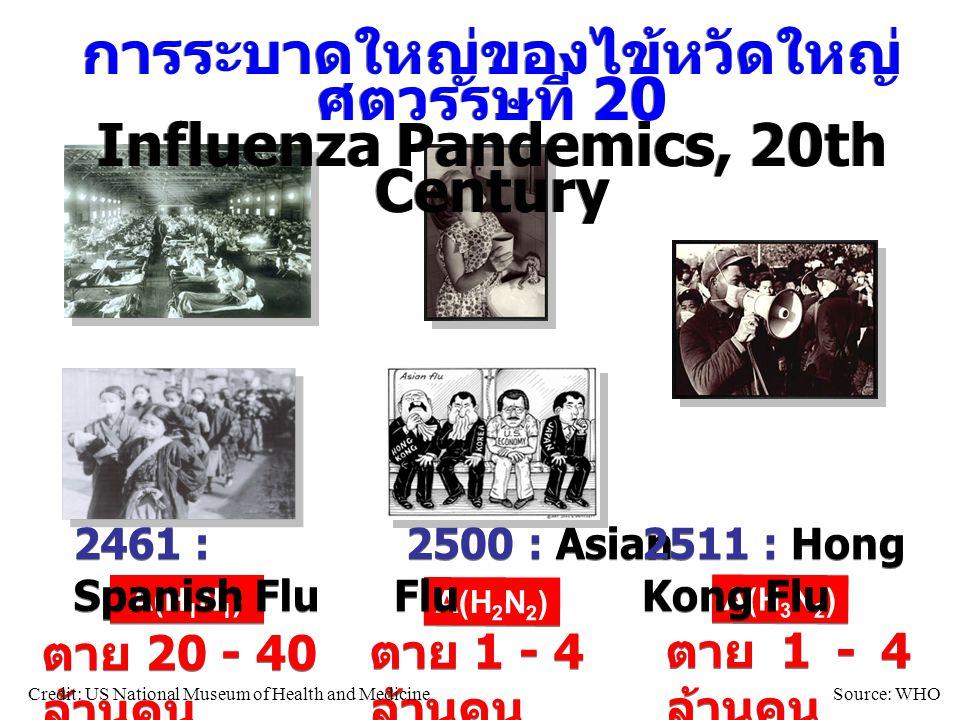 การระบาดใหญ่ของไข้หวัดใหญ่ ศตวรรษที่ 20