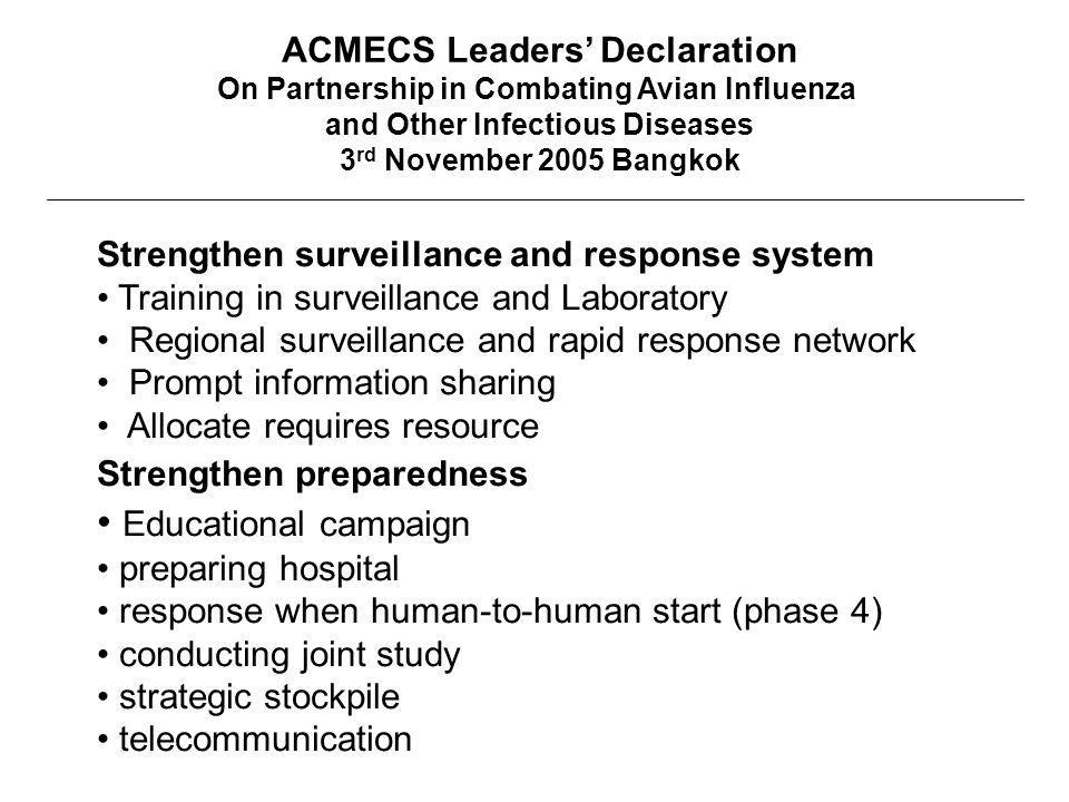 ACMECS Leaders' Declaration