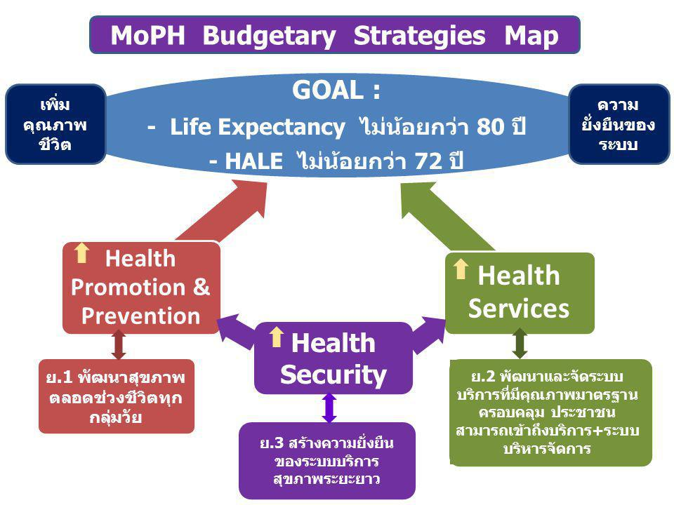 MoPH Budgetary Strategies Map