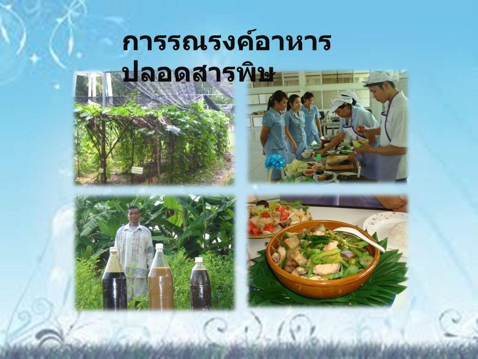 การรณรงค์อาหารปลอดสารพิษ