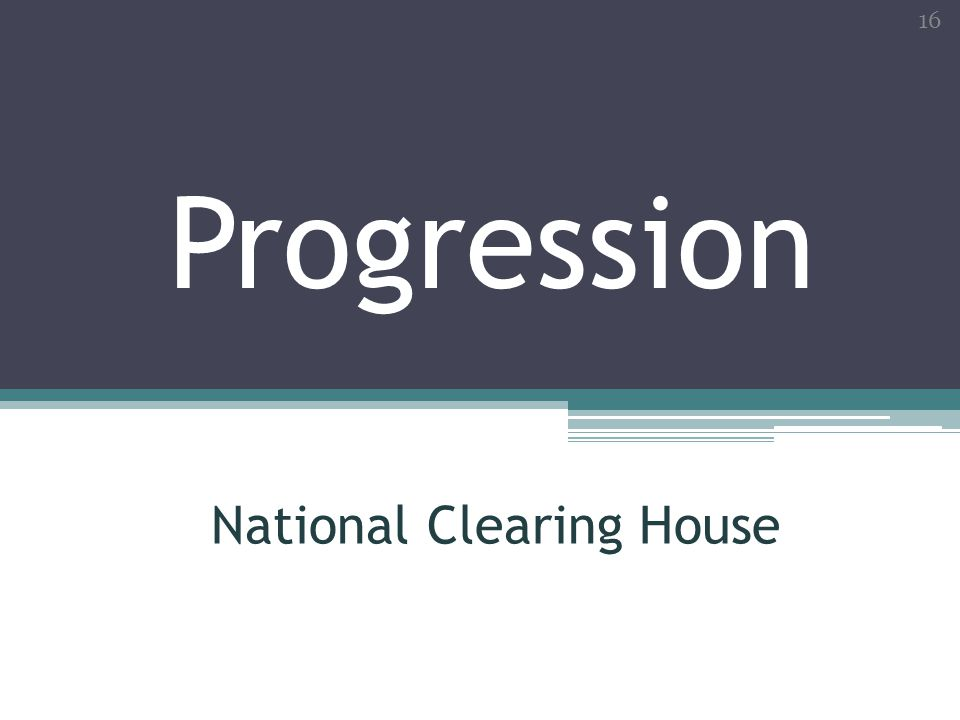 National Clearing House